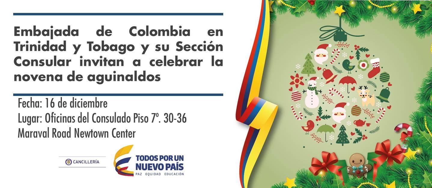Embajada De Colombia En Trinidad Y Tobago Y Su Sección